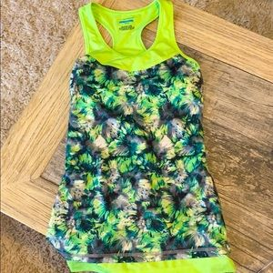 Neon Green Workout Top